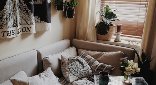 Small Space Organizing Ideas Make A 275 Sq. Ft. Studio Feel Much Bigger