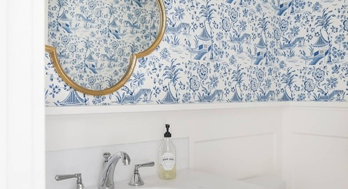 This Retro Pattern is Making a Big Comeback—Here's How to Use it in a More Modern Way