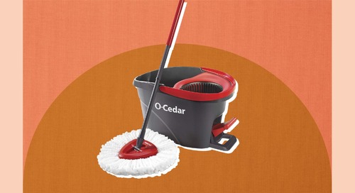 This Mop Has Almost 7,000 Five-Star Amazon Reviews—And Might Make You Enjoy Cleaning Your Floor