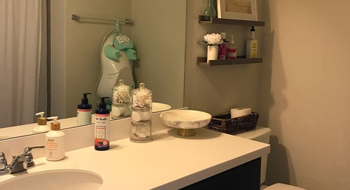 Before and After: It's Hard to Believe This Dramatic Bath Redo Cost Just $800