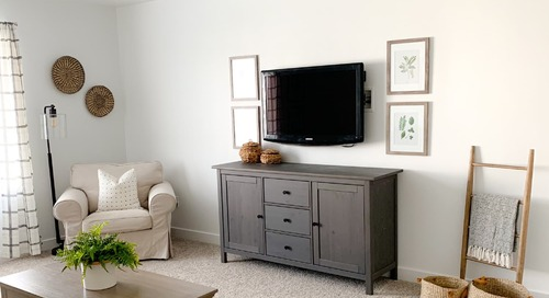 Before and After: This $350 Living Room Refresh Proves the Power of Small Tweaks