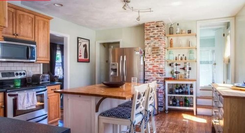 Before and After: After a Sewage Leak, This Kitchen's Better Than Ever