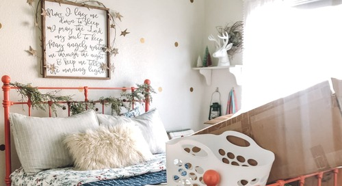 Before and After: A Grown-Up Bedroom Chock Full of Stylish DIYs