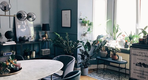 A Rental Apartment in Germany is a Gorgeous Mix of Mid-Century Modern, Boho, and Scandinavian