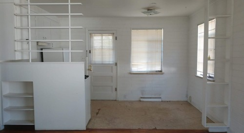 Before & After: A Rental Apartment's Dingy Kitchen Is Unrecognizable