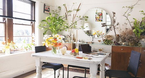 A Florist's Dreamy Art Deco Apartment Is the Opposite of Minimal in all the Right Ways