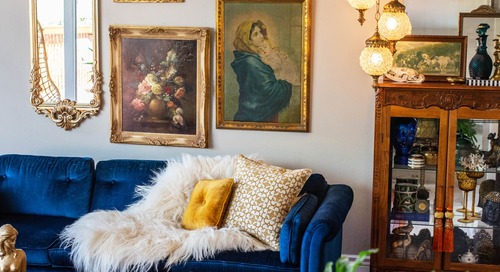 A 1970s House Has the Best Collection of Secondhand Treasures We've Ever Seen