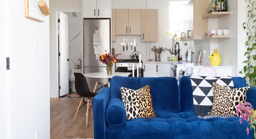 A Small Brooklyn Apartment Is a Great Example of How to Decorate on a Budget