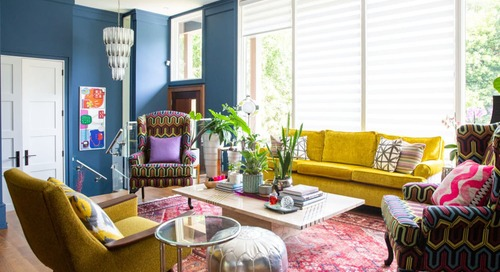 This Colorful Home Shows How to Add Personality to a Cookie-Cutter New Build