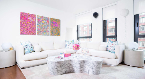 An Artist's Colorful, Candy-Coated Home's Full of Items That'll Make You Smile