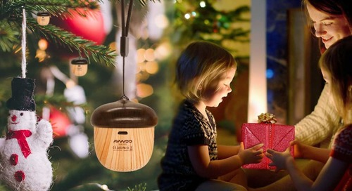 This Speaker That Doubles as an Ornament Has Us So Excited for the Holidays