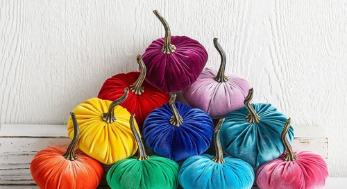 We're Decorating for Autumn with Etsy's Rainbow Fall Decor