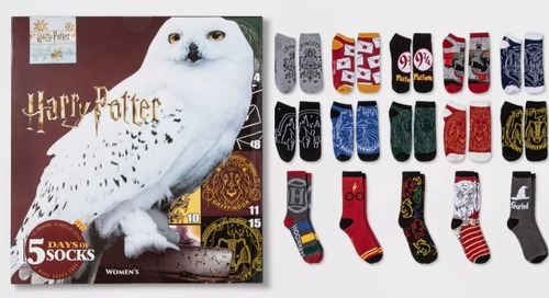 These Harry Potter Sock Advent Calendars Would Make Dobby Proud