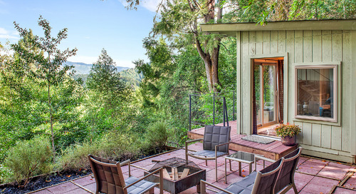 Live Out Your Tiny House Dreams Amongst the California Redwoods With This Charming Pair of Cabins