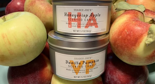 I Smelled Trader Joe's New $4 Candles and Yeah, You'll Want to Buy a Bushel of Them