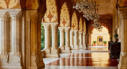 Vacation Like Royalty, Now That the City Palace of Jaipur is on Airbnb