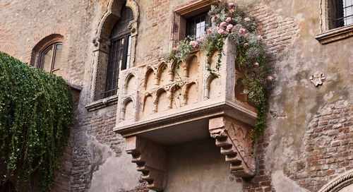 You and a Guest Can Win a Night In Juliet's Medieval House—Balcony and All—for Valentine's Day