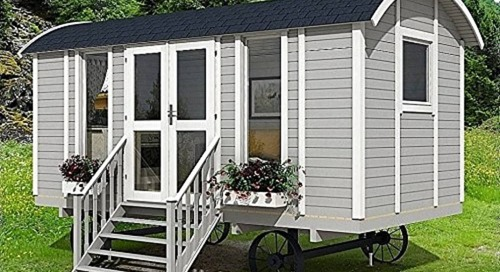 This Charming Tiny House on Wheels Is Under $8,000 on Amazon