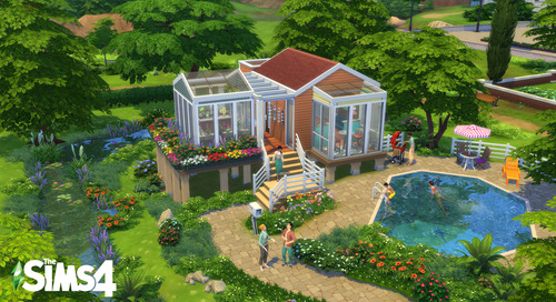 """""""The Sims"""" Are Having a Tiny House Design Contest and Here Are The Best Entries So Far"""