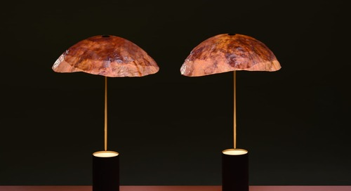 This Sustainable Lampshade Will Make You See Veggies In a Whole New Light