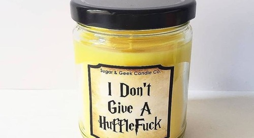 This Candle Is Specifically for Hufflepuffs Who Have Had Enough