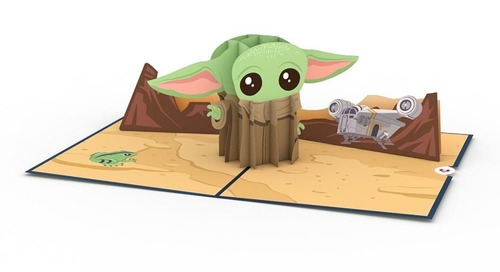 Make Baby Yoda Your Valentine with This Pop-Up Card