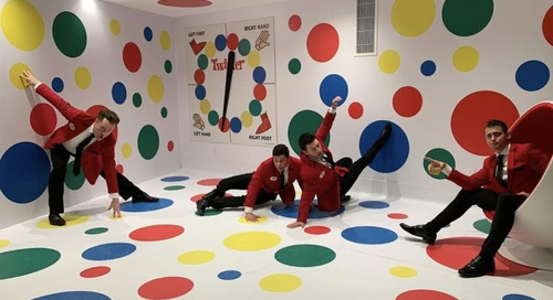 This 1960s-Inspired Hotel Lets You Play Twister on the Walls and Ceiling