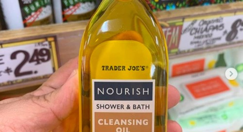 Trader Joe's Has a New Body Cleansing Oil, and We Tried It