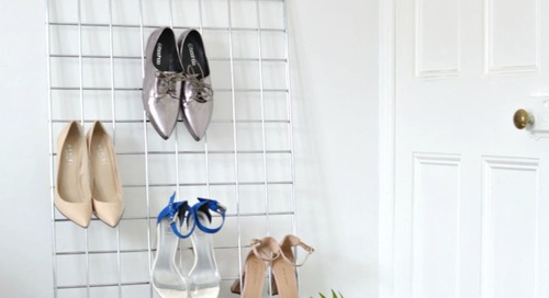 6 DIY Shoe Storage Ideas To Keep You Organized in Style
