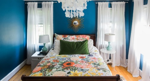 Turn Your Bedroom Into a Colorful Oasis—or a Calming Retreat—Courtesy of Anthropologie's Bedding Sale