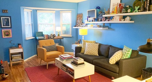 A Graphic Designer's Incredibly Colorful Home Is Inspired by Dr. Seuss' Whoville