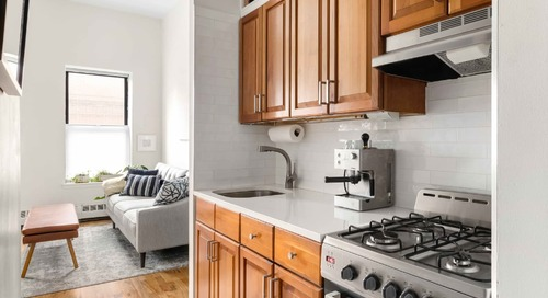 A 305-Square-Foot Hell's Kitchen Apartment Proves Small Can Still be Sophisticated