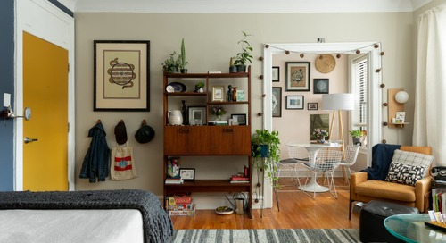 Get the Look: A Stylish Chicago Studio Featuring MCM Pieces