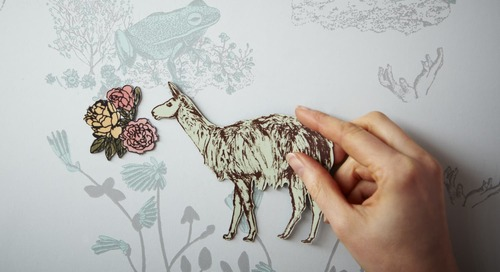 Your Walls Need This Whimsical Magnetic Wallpaper