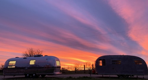 This Vintage Airstream Park in Texas Is Offering Discount Rentals on Kickstarter