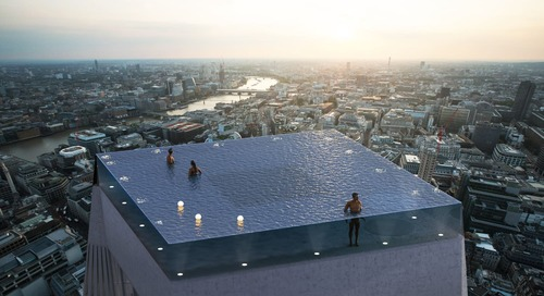 How, Exactly, Do You Get In This Skyscraper Infinity Pool?