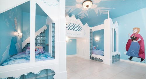 """This """"Frozen""""-Themed Rental Will Transport You to Arendelle"""