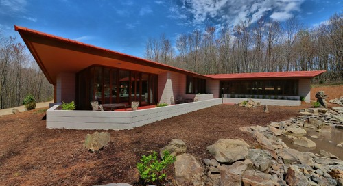 This Frank Lloyd Wright Home Was Deconstructed In Minnesota And Rebuilt In Pennsylvania