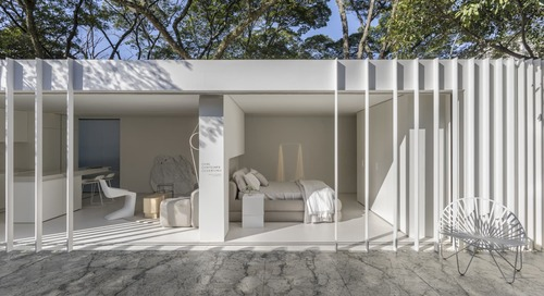 Peek Inside This Minimal 194 Square-Foot Shipping Container House
