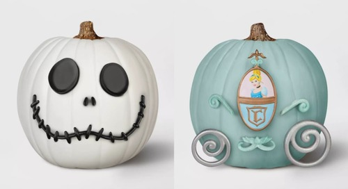 Target Is Selling Disney No-Carve Pumpkin Decorating Kits