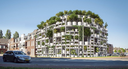 This Building Covered in Potted Plants Will Make Your Green Thumb so Happy