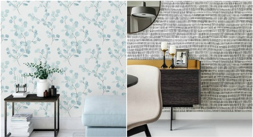 The Property Brothers Launched Peel-and-Stick Wallpaper, so Time to Redecorate