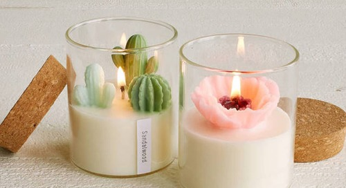 These Gorgeous Terrarium Candles Are Almost Too Pretty to Light