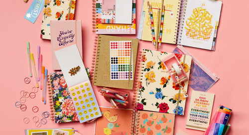 "Get that ""New School Supplies"" Feeling for Just $20 with Ban.do's Colorful New Planners"