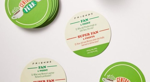 These 'Friends' Coasters Quiz You on Your Show Knowledge, Just Like the One with the Trivia Game