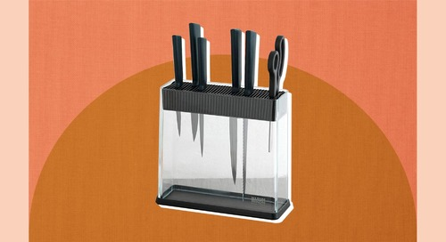 This Space-Saving Kitchen Solution Is So Much Better Than a Knife Block