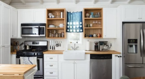 The Easy, Affordable Trick for Making Your Kitchen Look Way More Expensive