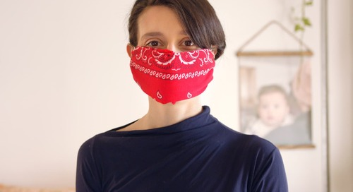 The Easiest Way to Make Your Own No-Sew Cloth Face Mask