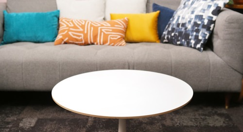 Before and After: How to Style a Trendy (and Practical!) Coffee Table With Just $32