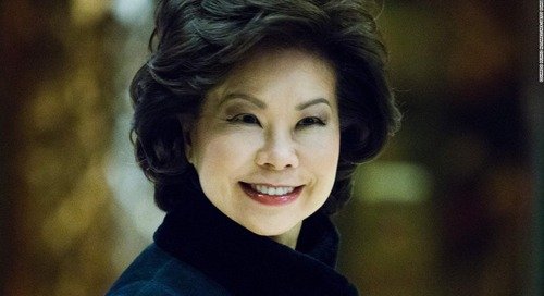 House committee launches ethics investigation into Elaine Chao's ties to shipping company run by her family - CNN